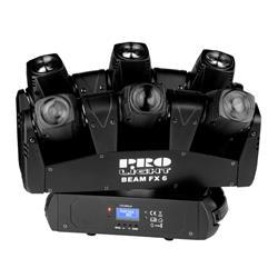 EFECTO DE LED : Efecto con multiples cabezas moviles led beam  BEAMER 6 FX