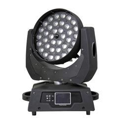 PRO LIGHT LT 3610 W ZOOM  Cabeza móvil WASH de 360 W LED RGB + blanco con zoom