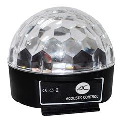 ACOUSTIC CONTROL MAGIC BALL  Efecto de led 6W