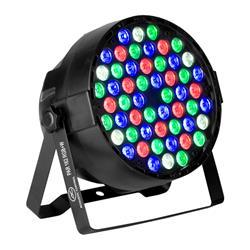 Acoustic Control PAR 162 RGB+W, Folo de led mezcla de 4 colores