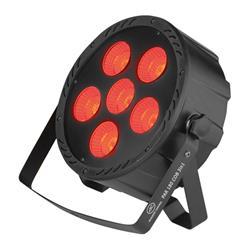 ACOUSTIC CONTROL PAR COB 180 3 EN 1, Foco de led profesional con led cob de 180 w RGB