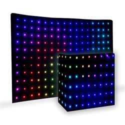 PRO LIGHT DJ DRAPE LED  Cortina de led por DMX para espectáculos y fiestas