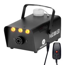 PRO LIGHT FOG 500 LED  Maquina humo para pequeñas fiestas y espectáculos con efecto led