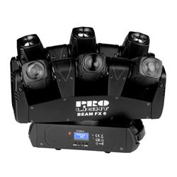 EFECTO DE LED : Efecto con multiples cabezas moviles led beam  BEAMER 6 FX