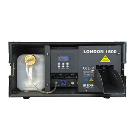 PRO LIGHT | LONDON 1500 DMX  Maquina HAZER para fiestas y espectáculos