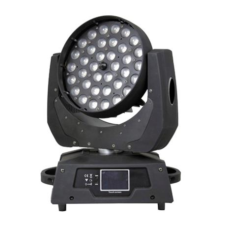 PRO LIGHT LT 3610 W ZOOM  Cabeza móvil WASH de 360 W LED RGB + blanco con zoom