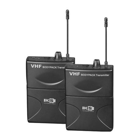 KS TECHNOLOGY   COMBO PETACA KIT  Par de micrófonos de petaca para altavoces con bateria