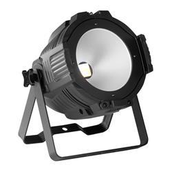 PRO LIGHT PAR COB 200 W, Foco de led profesional con led cob de 200 w en color blanco y ambar