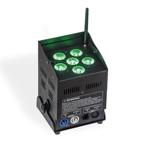 FOCO DE LED : FREE PAR 72 NEGRO, Foco de led con bateria y wifi