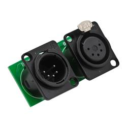 PRO LIGHT Conector dmx 5 pin profesional