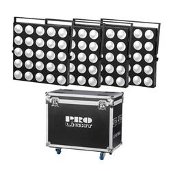 PRO LIGHT Matrix led 25 cob FC  Cuadrado de led con 5 x 5 LED COB matriciales para orquestas