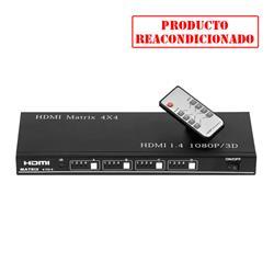ACOUSTIC CONTROL | MATRIX HDMI 4X4 matriz hdmi para televisiones
