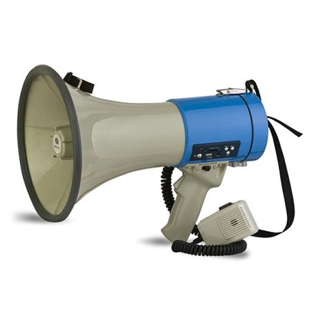 Acoustic Control MEG 100/MP3 megáfono profesional con reproductor MP3