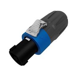 Comprar conector altavoz compatible speakon en KINSON. SL4FX-N  conector altavoz 4 polos