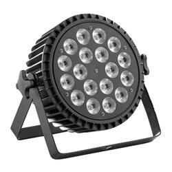 Comprar foco led con bateria profesional para iluminación de escenarios y teatros en KINSON