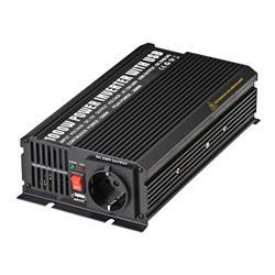 ACOUSTIC CONTROL INVER 1000 / USB, Convertidor de potencia de 12V a 220V profesional